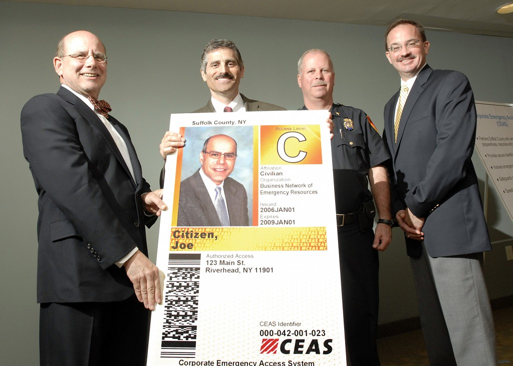 May 12, 2009- Suffolk County Executive introduces the CEAS program to Suffolk County businesses.
